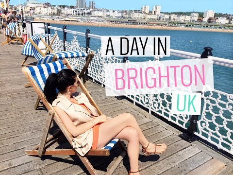 DAY TRIP TO BRIGHTON UK   Vlog   Sam Ashleigh   London