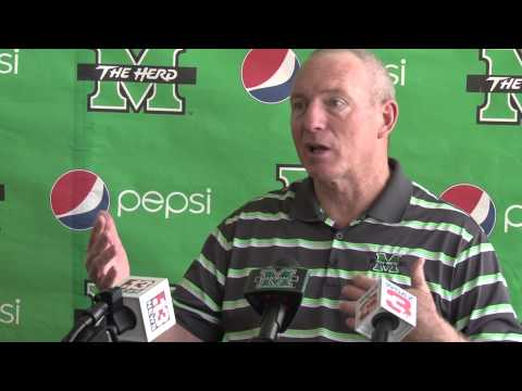 Marshall University: Coach Holliday Spring Press Conference