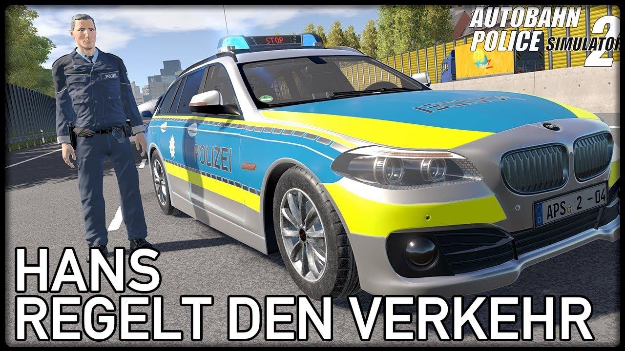 Autobahnpolizei Simulator 2 3 Hans Regelt Den Verkehr Autobahn