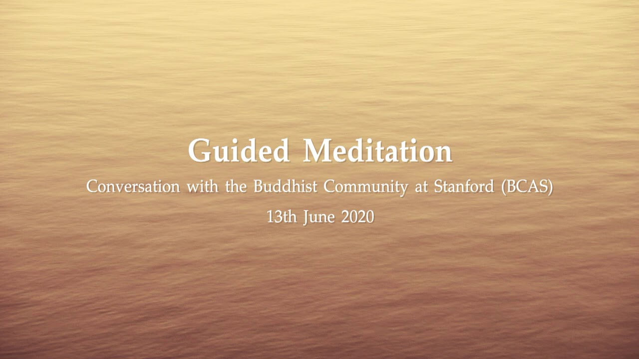 2563.06.13 Guided Meditation by Ajahn Jayasaro