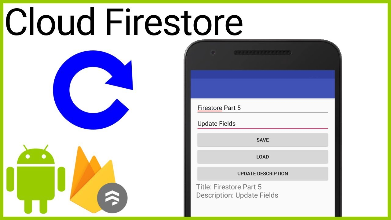 Firestore Tutorial Part 5 - MERGE AND UPDATE - Android Studio Tutorial