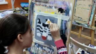 Видео мастер-класс по рисованию акварелью - youtube