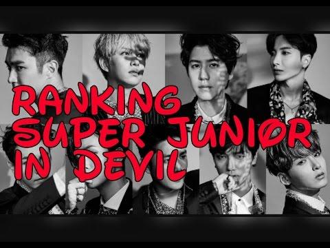 |RANKING| Super Junior - Devil