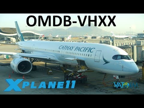 X-Plane 11 | 10k Sub Celebration!!! | Kai Tak Approach! | A350 | VATSIM | GIVEAWAY!!!