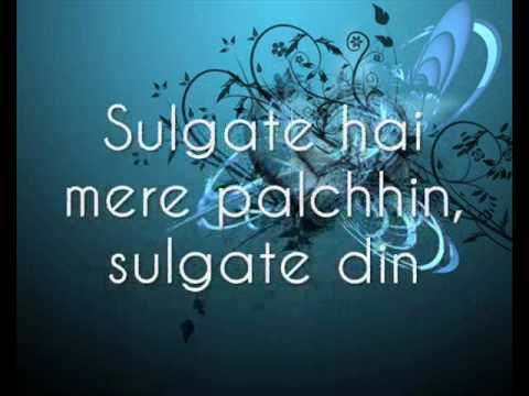 Akele Tanha with lyrics