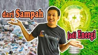 Bagaimana Proses Mengubah Sampah Menjadi Energi listrik - Bioenergi (PLTBm, PLTBg, PLTSa)