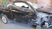 Lexus NX 200. The side body repair. Ремонт бока кузова. - YouTube