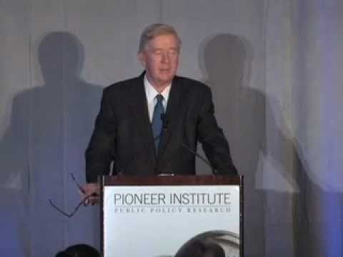 Former Massachusetts Governor Bill Weld Addresses 20th Anniversary Better Government Competition