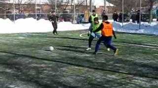 Зимовий міні-футбол