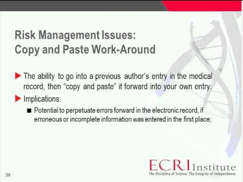Webinar - Documentation -- Paper and Electronic - The Basics and Beyond