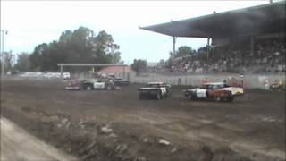 Central Montana Demolition Derby Lewistown 2012 Weld Grudge