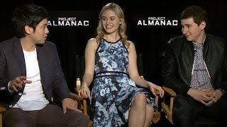 The Cast of Project Almanac Dishes on Filming at Lollapalooza and Their Own Time Travel Wishlist