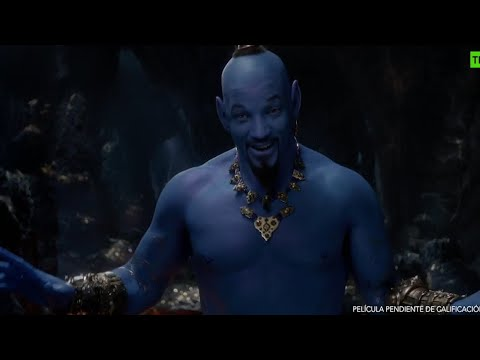 Will Smith tínguese de azul no novo tráiler de ' Aladdin'