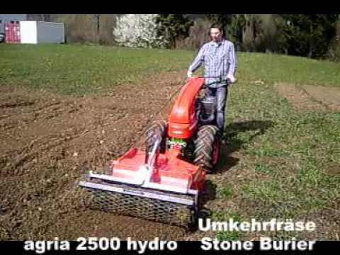 Agria 2500 Einachser Mit Umkehrfr 228 Se Two Wheel Tractor