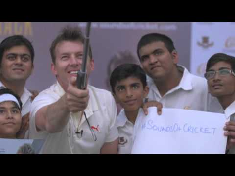 Brett Lee brings the Sounds of Cricket to Bombay Gymkhana