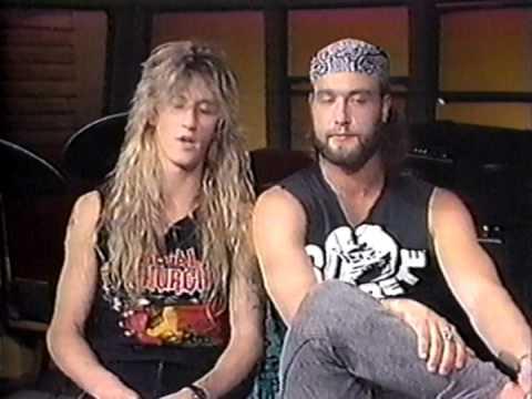 Metal Church: Mike Howe & Duke Erickson Interview On Headbangers Ball, 1989