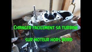 🔧 Tuto Changer facilement turbine ou pompe à eau sur bateau moteur 4 temps jusqu'à 50cv 🔧 #29
