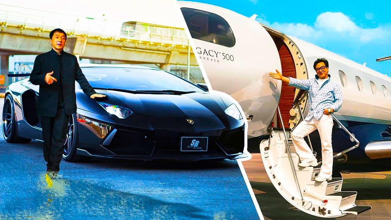 أنظر كيف ينفق جاكي شان ثروته التي تقدر ب 400 مليون دولار، حياة فاخرة