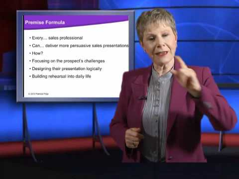 How to Improve Sales Presentations with Patricia Fripp