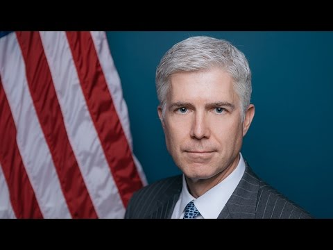 Pacific Legal Foundation comment on Gorsuch confirmation