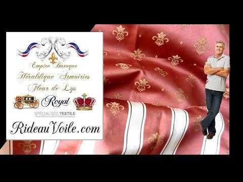 rideauvoile-tissu-empire-ameublement-déco-tapisserie-au-mètre-jacquard-rideau,-housse,-tenture