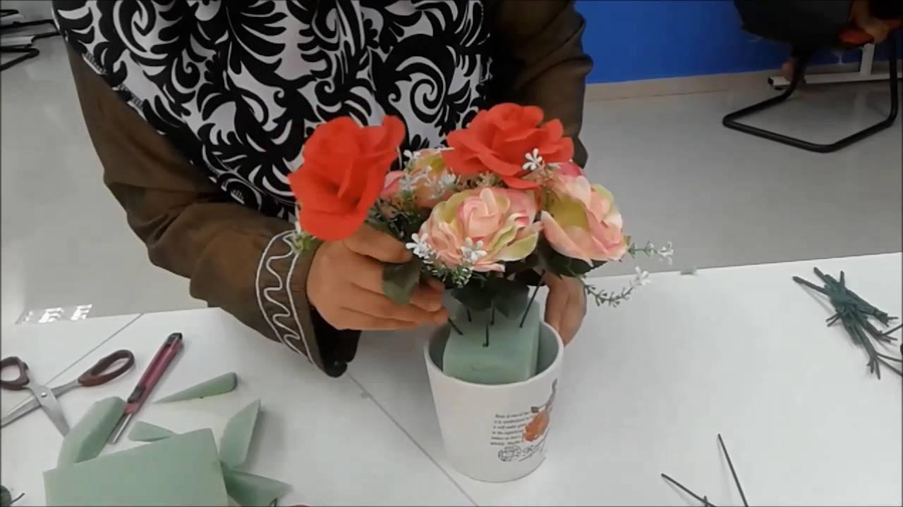 Gubahan Bunga Hiasan Murah Dan Senang Mykomunitikreatif Mykiff