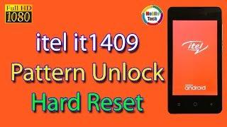 itel 1409 Hard Reset   itel Mobile Hard Reset   itel it1409 Pattern unlock