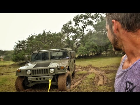Humvee To The Rescue... Didn't Go As Planned...