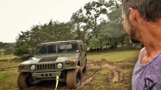 Humvee To The Rescue... Didn\'t Go As Planned...