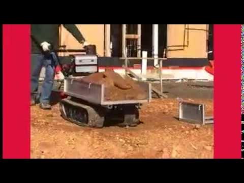 Honda HP450 Power Carrier Product Demonstration
