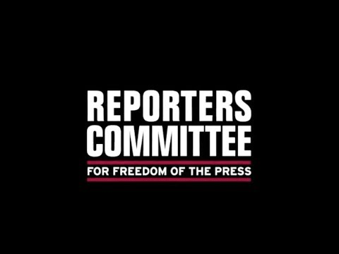 About the Reporters Committee for Freedom of the Press