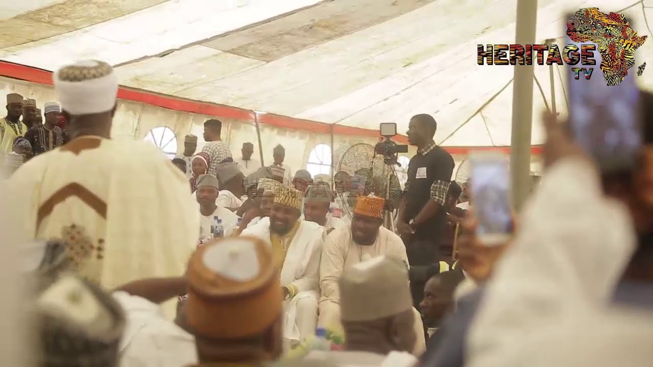 Download Imam Ofa at saoty Arewa house warming ceremony