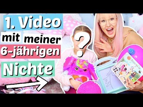 1.Video mit meiner Nichte JANA 💗 6-jährige testet Spielzeug | ViktoriaSarina