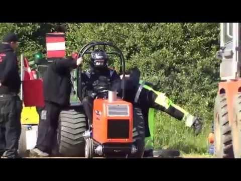 Compact diesel traktorer i Hedensted Pulling Arana - 2015