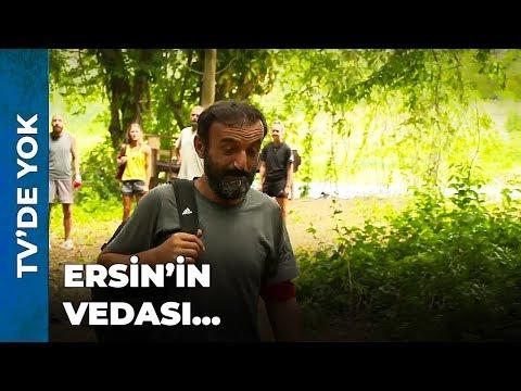 ERSİN ADAYA VEDA ETTİ! | Survivor Ünlüler Gönüllüler