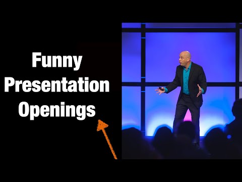Funny Presentation openings