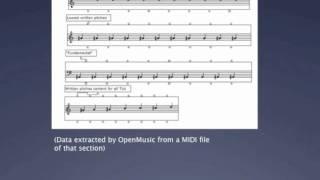 SOAL demo 3 - Stockhausen's GRUPPEN