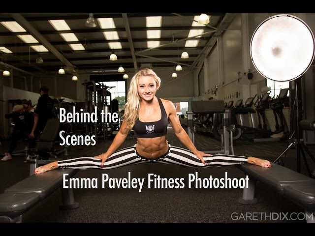 Emma Paveley UKBFF Fitness Champion - Behind the Scenes Photoshoot with Gareth Dix (GoPro Timelapse)