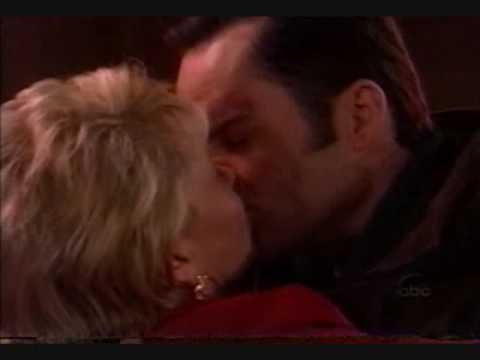 OLTL - Ben and Blondie's First Kiss (2/2) (02-26-1999)