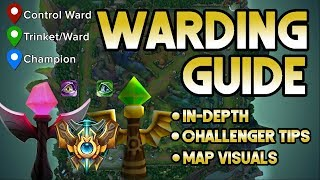 LOHPALLY Warding Guide | How to Ward In Lane + All Game And When | In-depth Challenger Tips