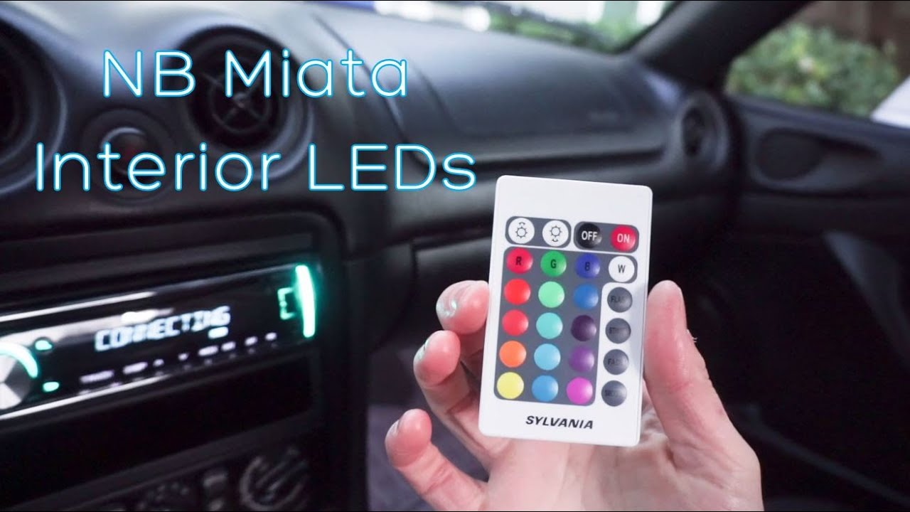 Nb Miata Interior Leds Youtube Mazda Mx5 Fuse Box Premium