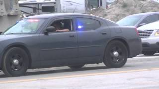UNMARKED POLICE CAR IN FLORIDA LOTS OF LED LIGHTS