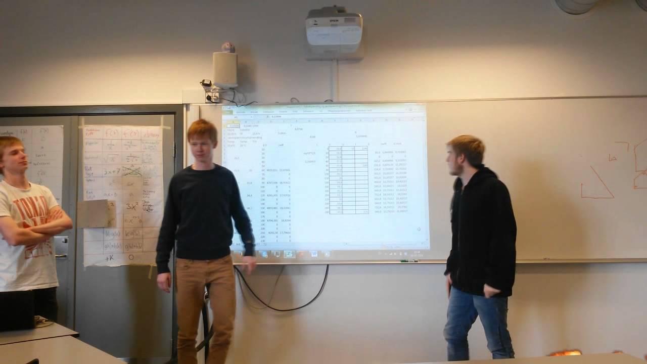 Ellære II - Eksperiment 3: Videopræsentation