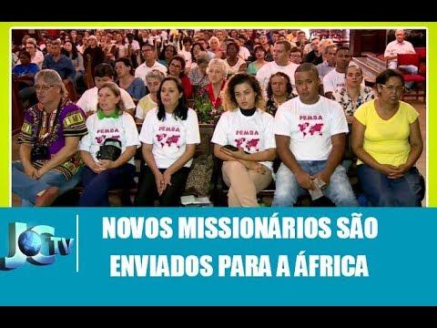 Missionários de Campinas são enviados para a África - JCTV - 19/03/18