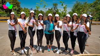 Alcaldía de Managua promueve jornada de reforestación con candidatas a Miss Teen 2020