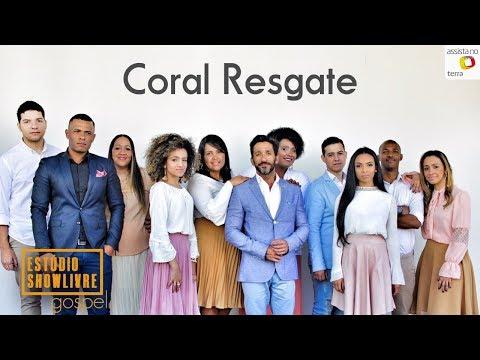 Coral Resgate no Estúdio Showlivre Gospel - Apresentação completa
