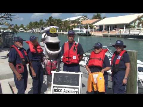 Florida Keys Coast Guard Aux talks about Boating Safety for Marathon Florida TV, TV 88