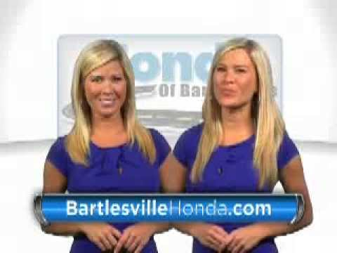 Honda of Bartlesville TV Ad With Twins - YouTube
