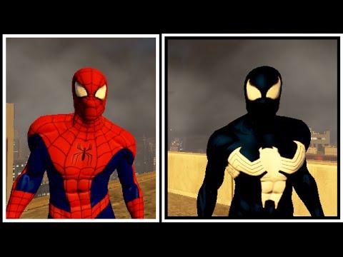 Игра новый человек паук костюмы