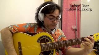 New Zyryab Tutorial 3/ Learning Paco de Lucia online / Ruben Diaz modern flamenco guitar lesson